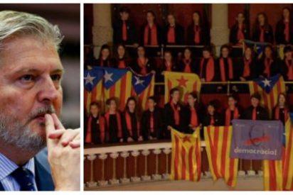 Luis Ventoso le sacude estopa de la buena al cobarde Méndez de Vigo por no defender enérgicamente el castellano en Cataluña