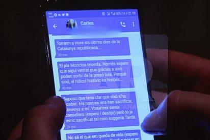 """Mayte Alcaraz: """"En unos meses, esta será la correspondencia de Puigdemont"""""""