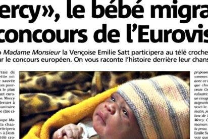 'Mercy', el bebé inmigrante que lleva Francia al Festival de Eurovisión