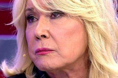 La señora Mila Ximénez hace otra vez el numerito de irse tras su bronca con el alopécico Carlos Lozano