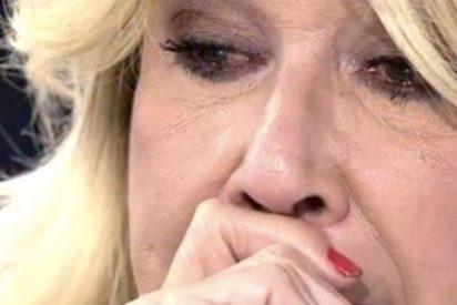 Mila Ximénez hundida tras a muerte del que fue su gran amor