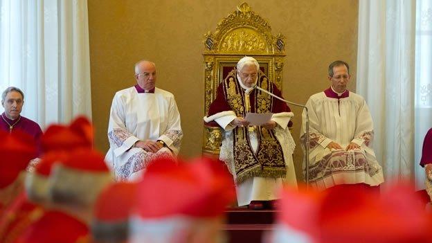 Cinco años de la histórica renuncia de Benedicto XVI