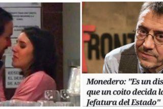 Twitter le recuerda a Monedero con un antológico 'zasca' que la 'portavoza' de Podemos fue elegida también por un coito