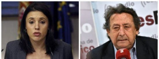 El descacharrante consejo de Alfonso Ussía a Irene Montero para darse una plácida ducha y dejar de decir majaderías