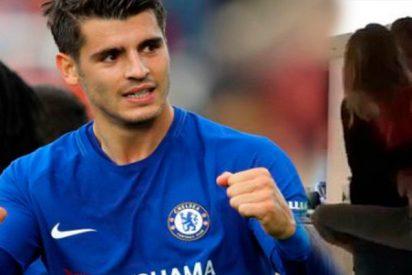 Así es el vídeo de Alvaro Morata que cabrea a la afición del Chelsea