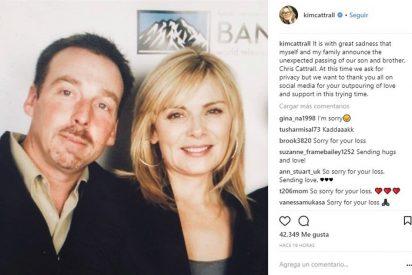 Muere el hermano de Kim Catrall tras llevar desaparecido seis días