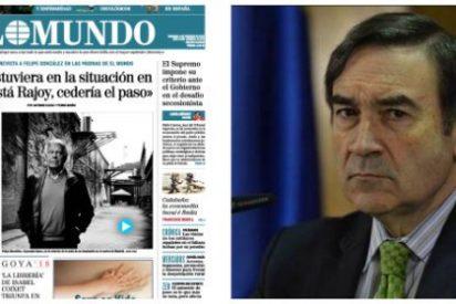 A Pedrojota se lo llevan los demonios con la entrevista de El Mundo a Felipe González