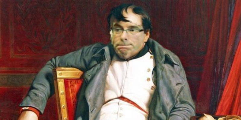 """Ignacio Camacho: """"El prófugo Puigdemont se cree en Waterloo pero ya está en su Santa Elena"""""""