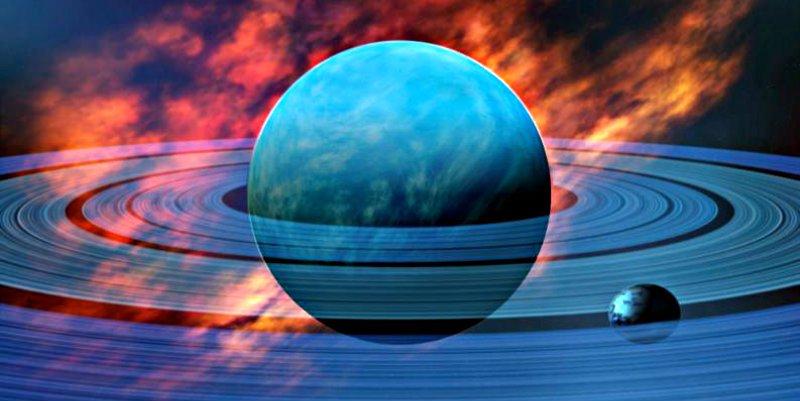 Neptuno se transformó en planeta rocoso por el estallido de un agujero negro supermasivo