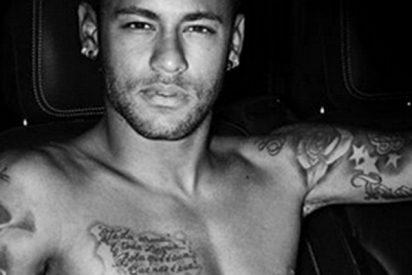 La foto de Neymar desnudo incendia las redes
