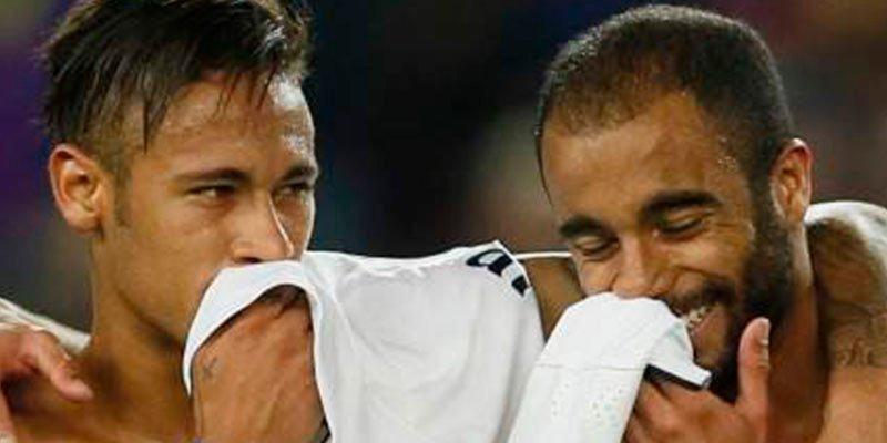 Neymar le monta un pitote al PSG por la venta de su amíguete Lucas Moura