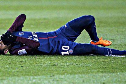 Catástrofe en el PSG: Neymar se opera, será baja 2 meses y no jugará contra el Real Madrid