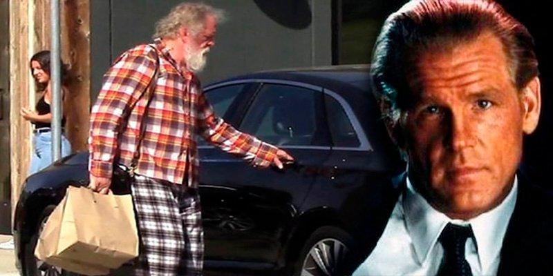 Un acabado Nick Nolte sale de compras en pijama por Malibú