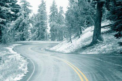 144 carreteras del norte y noreste de España, 56 de ellas cortadas por nieve y el hielo