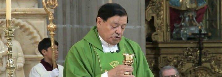La última misa del cardenal Norberto Rivera Carrera