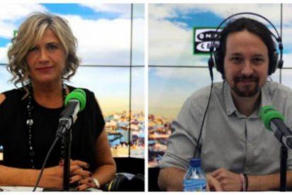 La progre Julia Otero se desespera con la pachorra de Iglesias y le aprieta para recuperar la moción de censura contra Rajoy