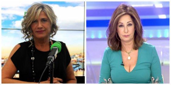 Julia Otero, presa de un ataque de celos, pone en solfa la exclusiva de Ana Rosa Quintana con su pillada a Comín