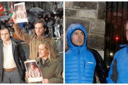 Apenas seis dirigentes del PP vasco plantan cara a los proetarras en Andoain