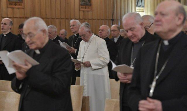 El Papa se retira a Ariccia para los ejercicios espirituales