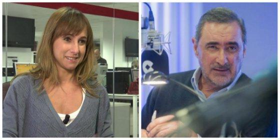 Ana Pardo de Vera se suma al 'portavozas' de Montero para insultar cobardamente a Carlos Herrera