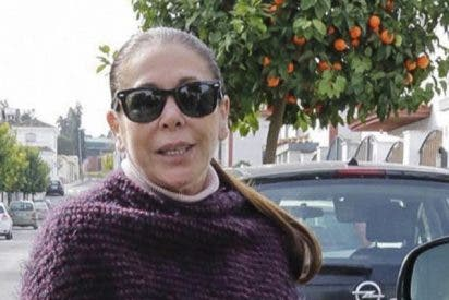 Isabel Pantoja dice que esta de mudanza y no va al hospital a conocer a la hija de Kiko Rivera