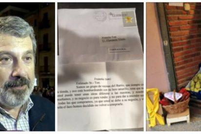 La carta viral de las clientas de una frutería de Tarragona que acojona de lo lindo a los más rancios separatistas