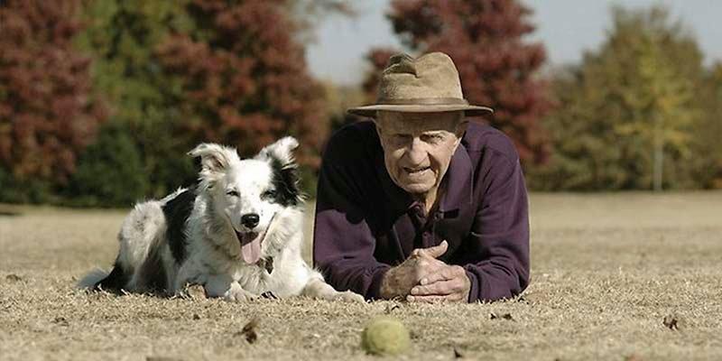 ¿Sabes que tener un perro ayuda a los mayores a cumplir las recomendaciones de ejercicio físico?