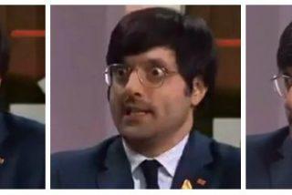 El estrafalario jefe de prensa del golpista 'Puchi' que cobra 75.000 euros al año por decir bobadas en la TV3