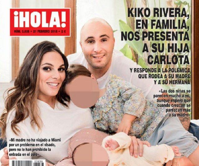 Kiko Rivera presenta a su pequeña Carlota