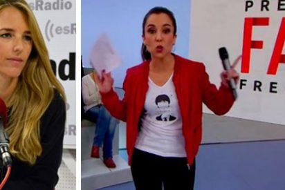 Cayetana Álvarez de Toledo se niega a participar en el aquelarre separatista de 'Preguntas Frecuentes' de la TV3 con un tremendo corte de mangas