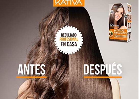 """""""Kativa Keratina y Argán - Kit de Alisado Brasileño"""