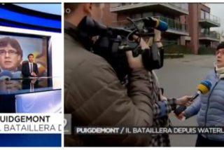 """La desopilante respuesta de una vecina catalana de Puigdemont en Waterloo retumba hasta en Tractoria: """"Cobarde, cumpla con la justicia"""""""