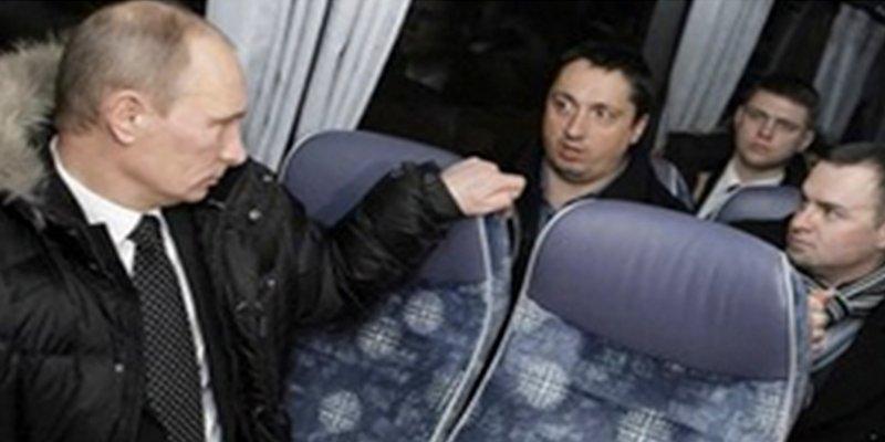 Tremendo cachondeo en Twitter con esta foto antigua del Zar Vladimir Putin