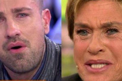 """Se pasan en 'Sálvame': Chelo García Cortés llama """"gilipollas"""" a Rafa Mora en horario protegido"""