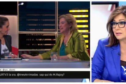 El repugnante y cobarde ataque de Pilar Rahola a Ana Rosa Quintana con la sonrisa cómplice de la 'ultra de Puigdemont'