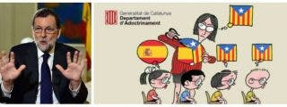 ¡Así te va en Cataluña, Rajoy! Ya es lamentable que con el 155 en vigor aún puedan ciscarse en el castellano