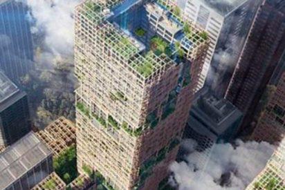 Así será el super rascacielos de madera que quiere construir Japón