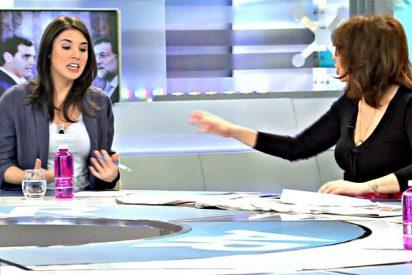 Ana Rosa Quintana 'plancha' a Irene Montero y los zarrapastrosos de Podemos intentan vengarse