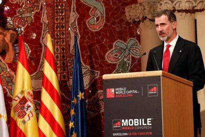La guarrada del chuleta Torrent tras el memorable discurso de Felipe VI
