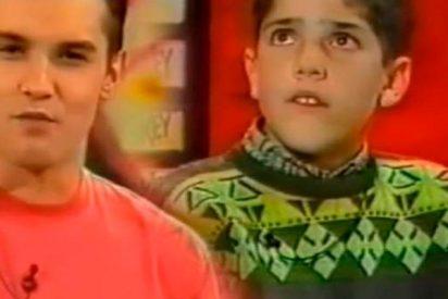 """¿Sabías que Roberto Leal se estrenó en televisión como """"comedor de brevas"""" junto a su 'colega' de 'OT' Jesús Vázquez?"""