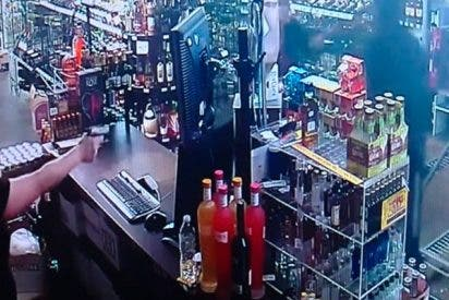 Intenta robar en la tienda de alcohol equivocada