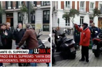 """Un ciudadano acorrala a Gabriel Rufián y hace temblar a todo el separatismo: """"¡Vaya ojo, tres presidentes, tres delincuentes!"""""""