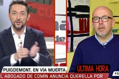 Antología del ridículo de Gonzalo Boye: dice que los no los mando Carles Puigdemont en Antena 3 y se desmiente en Cuatro