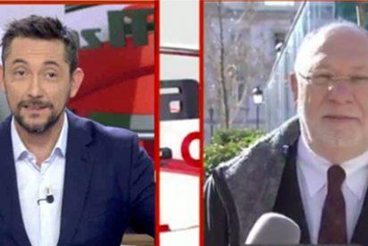 Éxtasis de Javier Ruiz con la exclusiva de Ekaizer sobre la imputación de Aguirre