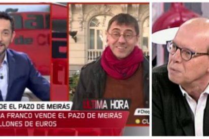 Javier Ruiz estalla con el comisario Monedero por su ruindad con un 'indefenso' Jaime González