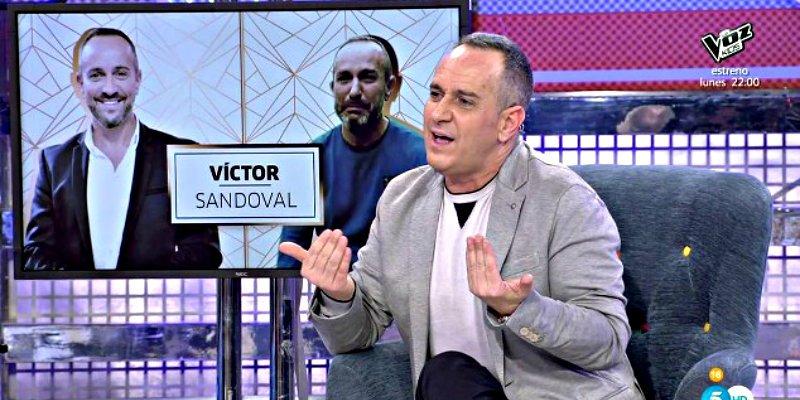 "Víctor Sandoval: ""Escupo trozos de carne"""