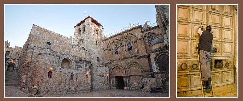 Las iglesias cristianas cierran el Santo Sepulcro de Jerusalén