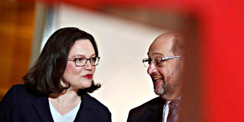 Alemania: La exministra Andrea Nahles toma este martes las riendas del SPD