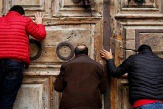 El Santo Sepulcro sigue cerrado, por segundo día consecutivo