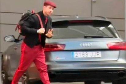 La 'personalidad' de Sergio Ramos vistiendo, vuelve a convertirlo en trending topic